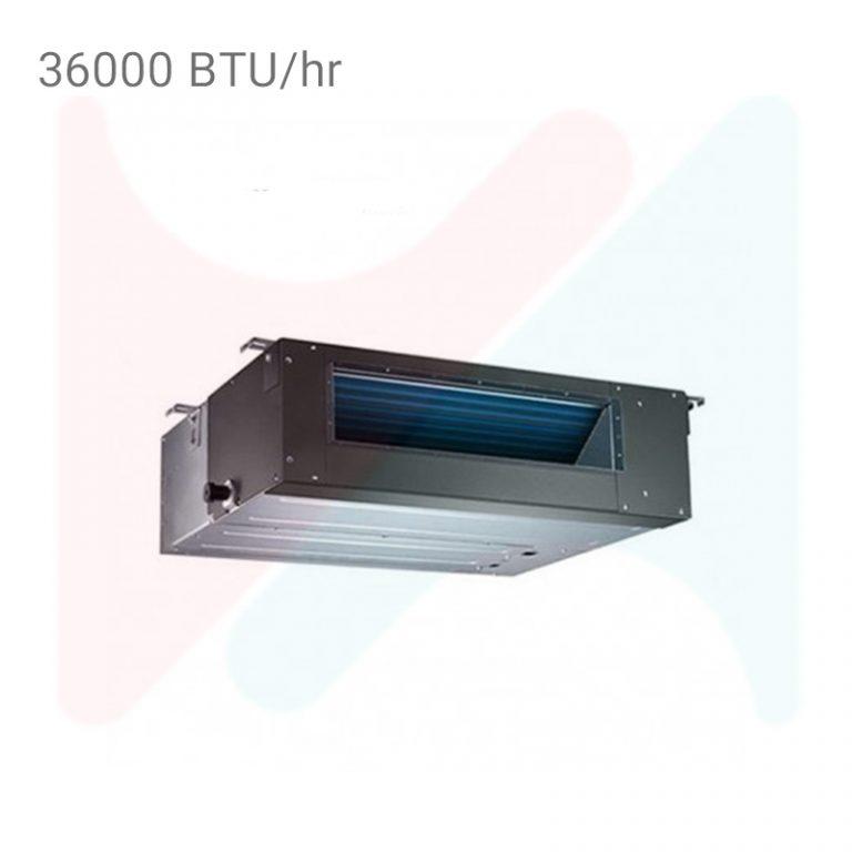 داکت اسپلیت اینورتر جی پلاس GCD-36KN6HR3